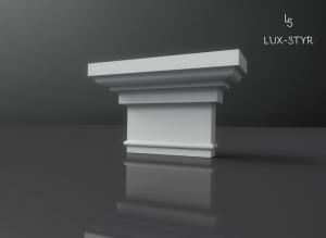 glowice pilastrow